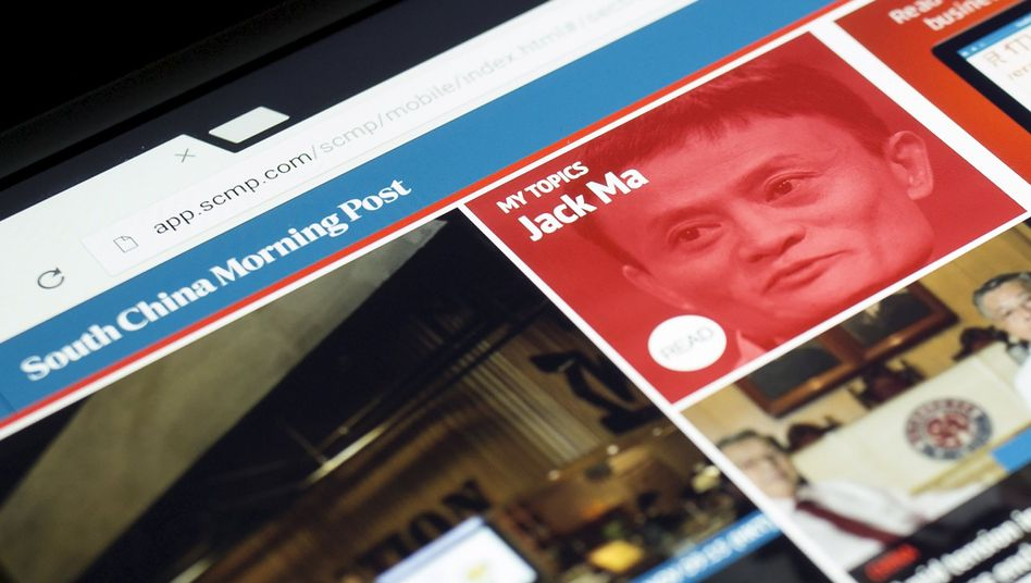 """Webseite der """"South China Morning Post"""": Jack Ma will offenbar kaufen"""