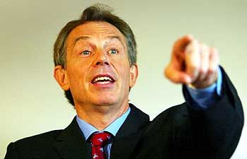 Widersprüche: Tony Blair
