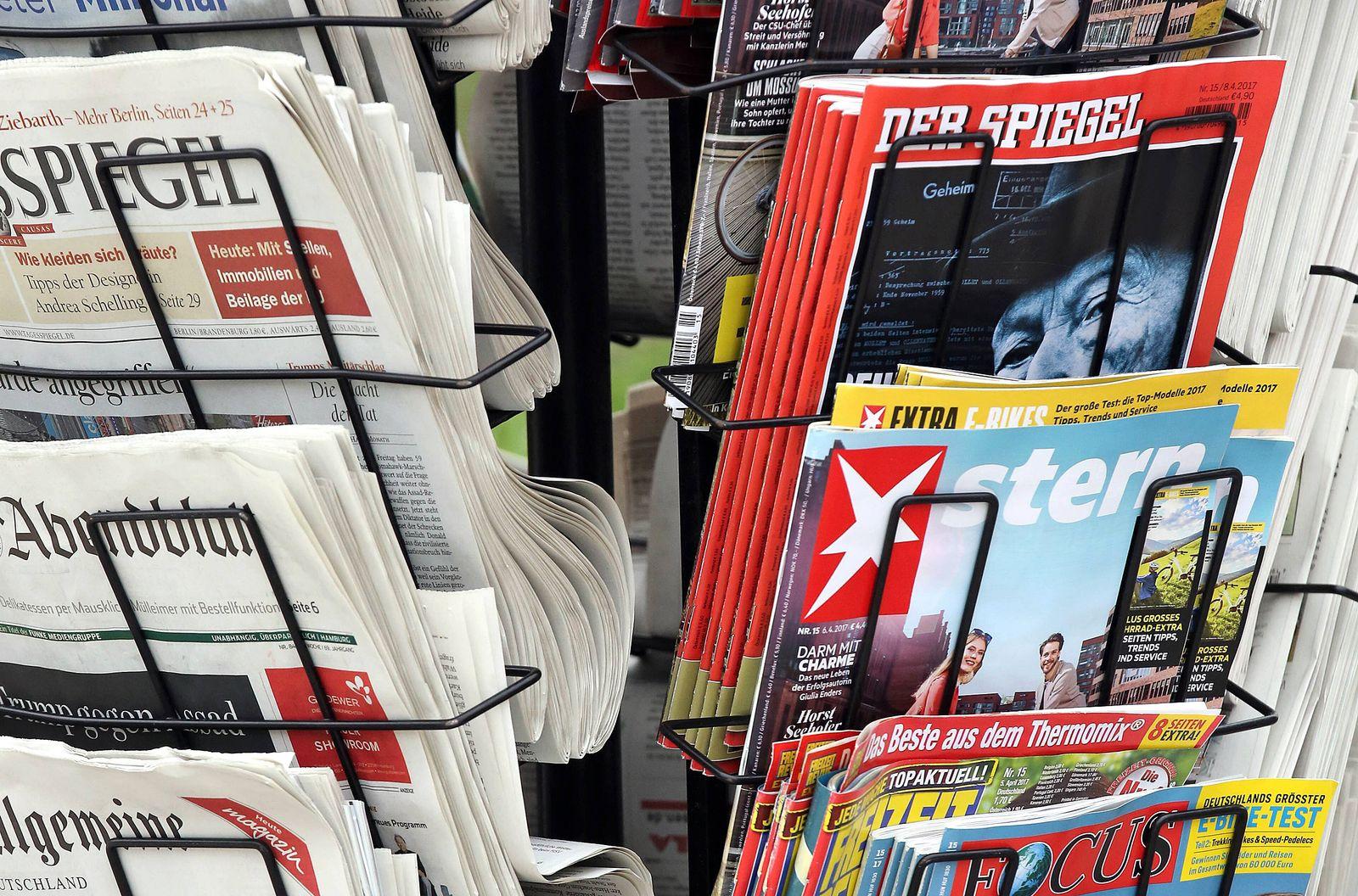 EINMALIGE VERWENDUNG Zeitschriften