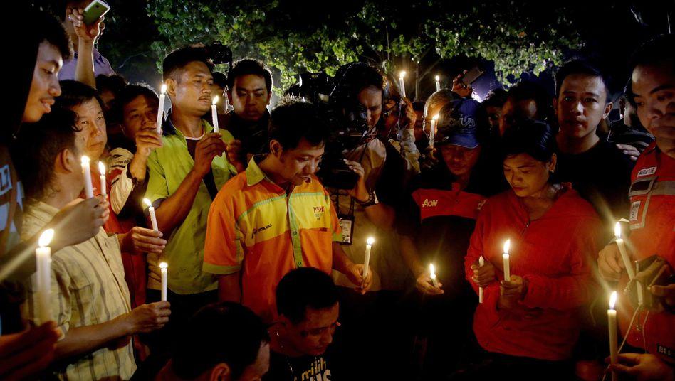 Mahnwachen für die Todeskandidaten: Die Urteile wurden trotz aller Proteste vollstreckt