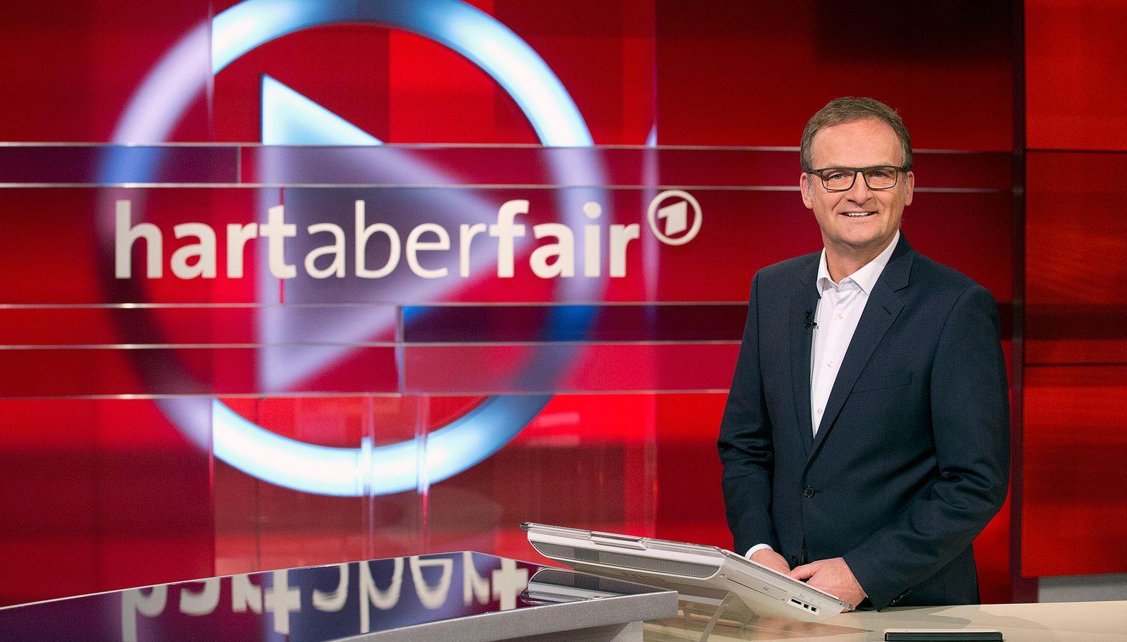 EINMALIGE VERWENDUNG TV-Talk/ Frank Plasberg