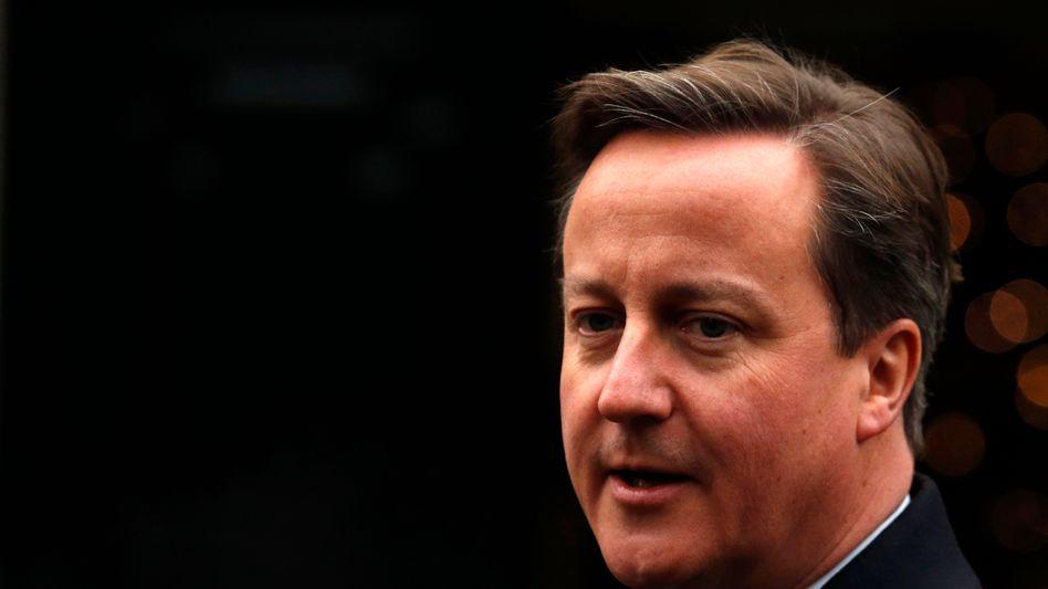Großbritanniens Premier David Cameron: Stellen im Folterbericht geschwärzt