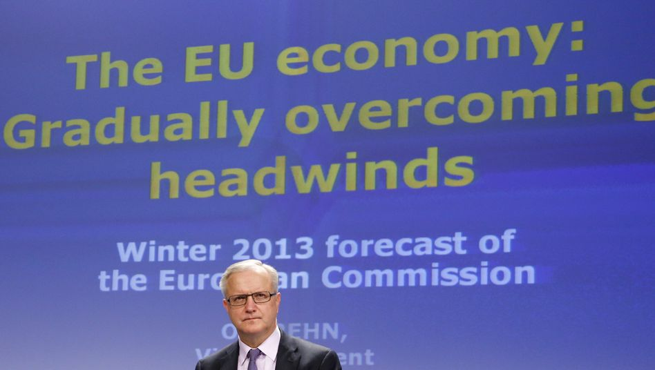 """There is no reason for complacency,"" European Monetary Affairs Commissioner Olli Rehn says."