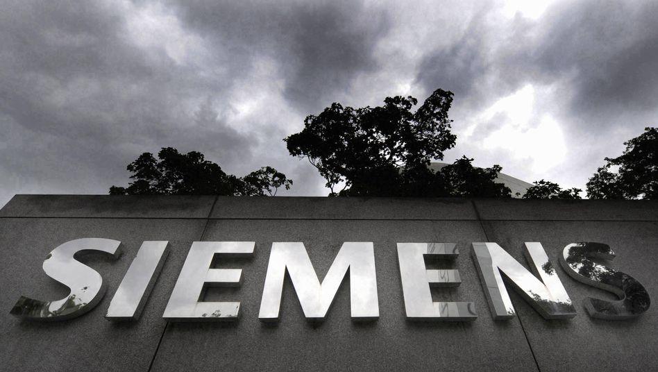 Siemens-Logo: Nachwehen der Korruptionsaffäre