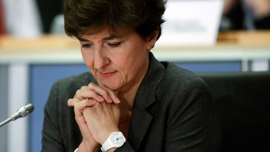 Gescheiterte Kandidatin Sylvie Goulard