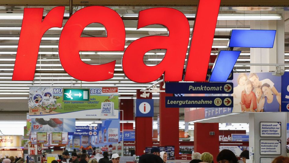 Real-Markt in Berlin: Zuletzt nur noch niedrige Gewinne