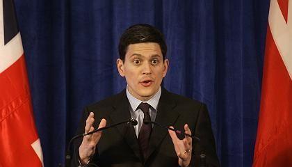"""David Miliband: """"Krieg gegen den Terror"""" ein Fehler"""