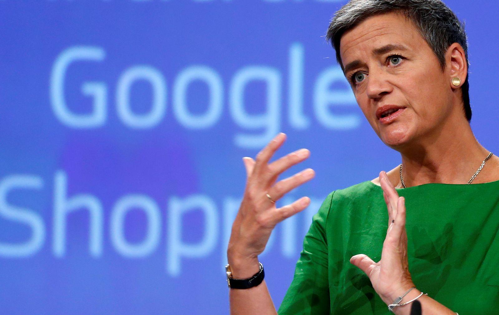 Margrethe Vestager/ Google/