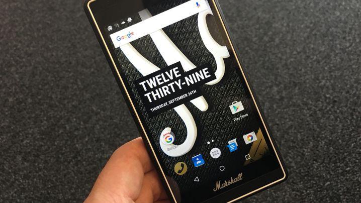 Smartphone vom Verstärkerhersteller: Das Marshall London im Test