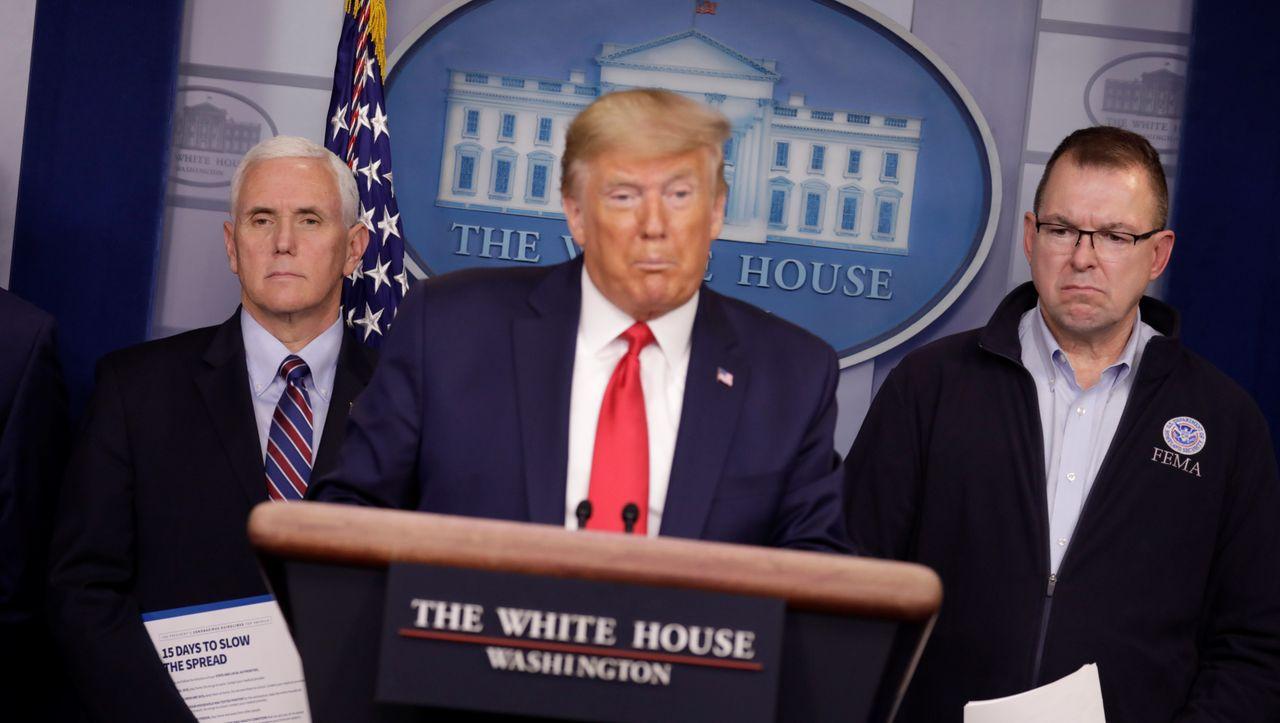 """Coronakrise in den USA: Trump spricht von """"Krieg gegen Virus aus China"""" - DER SPIEGEL - Politik"""