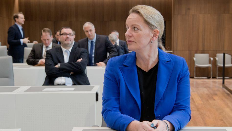 Dana Guth, ehemalige Fraktionsvorsitzende der AfD in Niedersachsen
