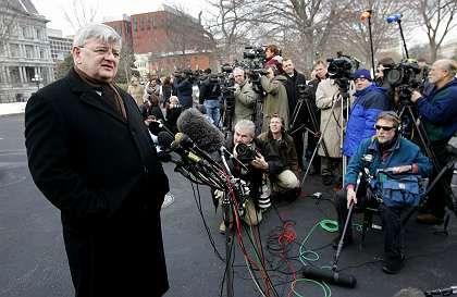 Außenminister Fischer am 25. Januar in Washington: Gut gelaunter Besuch