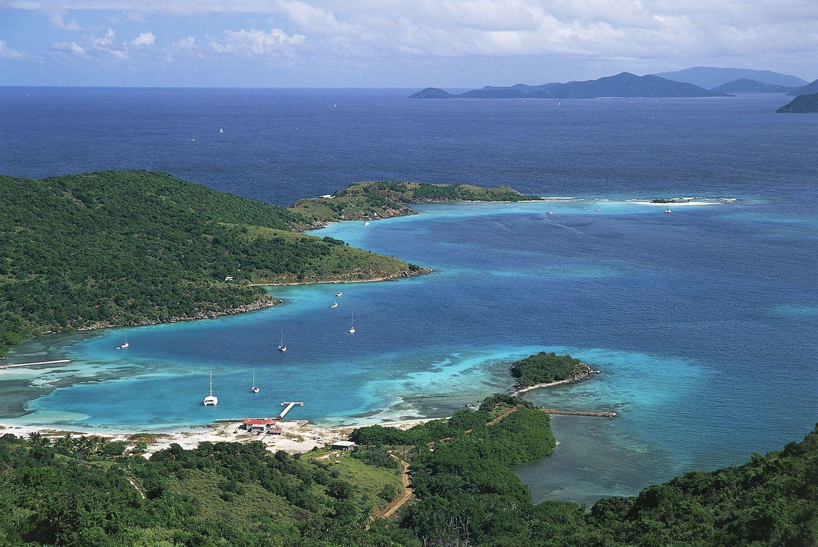 EINMALIGE VERWENDUNG Britische Überseegebiete / Britische Jungferninseln