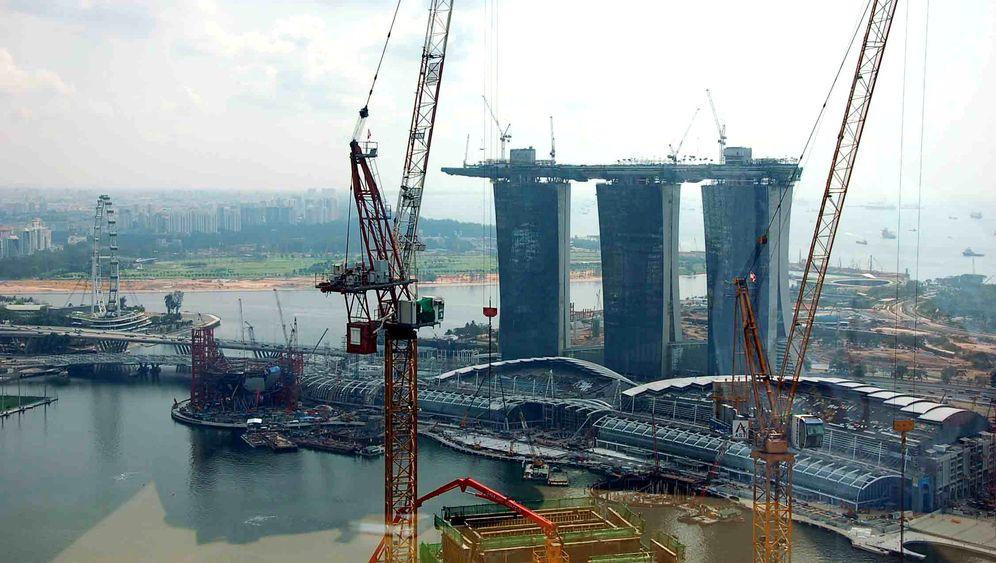 Singapurs Spielplatz: Formel-1-Parcour, Casino und Riesenrad