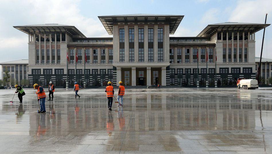 """Palast in Ankara: """"Alle historischen, gesetzlichen, sozialen und städtischen Werte missachtet"""""""