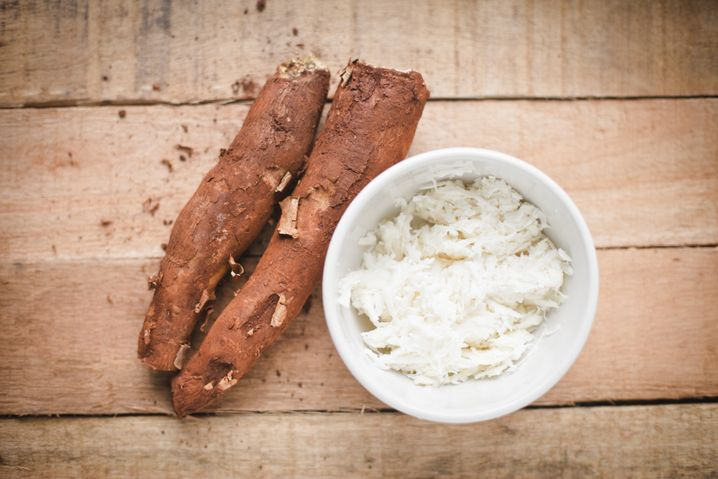 Cassava tuber and rice: Around 300 million tons of cassava are harvested each year.