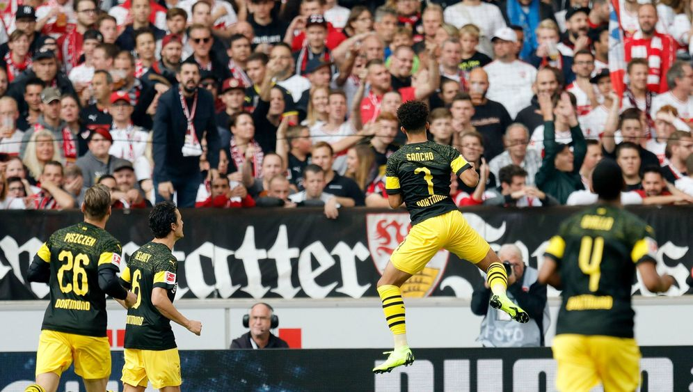Fußball-Bundesliga: BVB brilliert, Leverkusen verwirrt