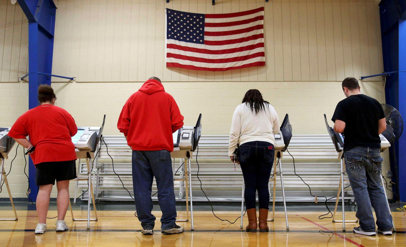 US-Wahl / Wähler