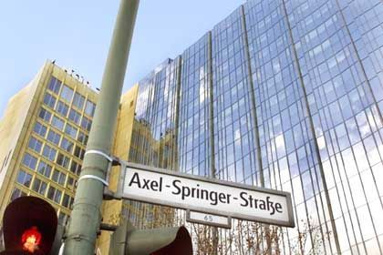 Swiss-Connection: Axel-Springer-Hochhaus in Berlin