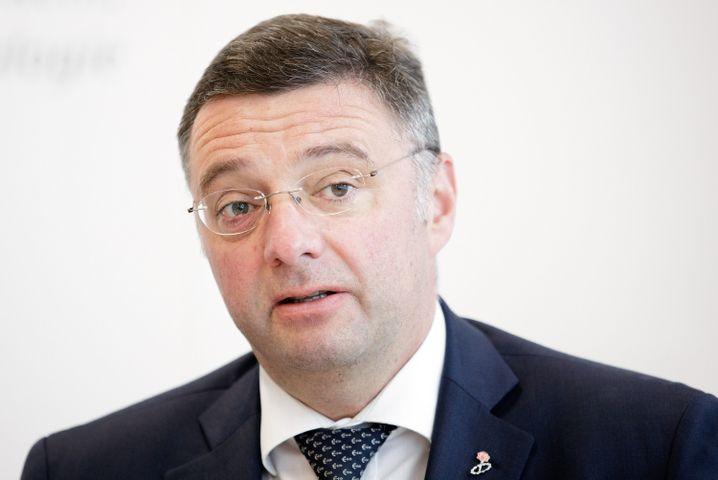 Österreichs Verkehrsminister Leichtfried