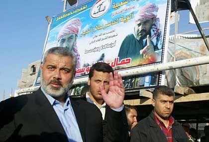 """Ismail Hanija: """"Der Präsident hat kein Recht, das Volk zu befragen"""""""