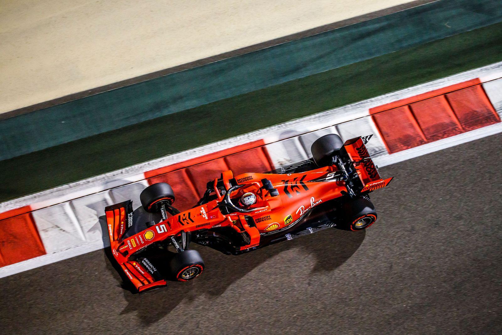 Formula One Grand Prix of Abu Dhabi, United Arab Emirates - 29 Nov 2019
