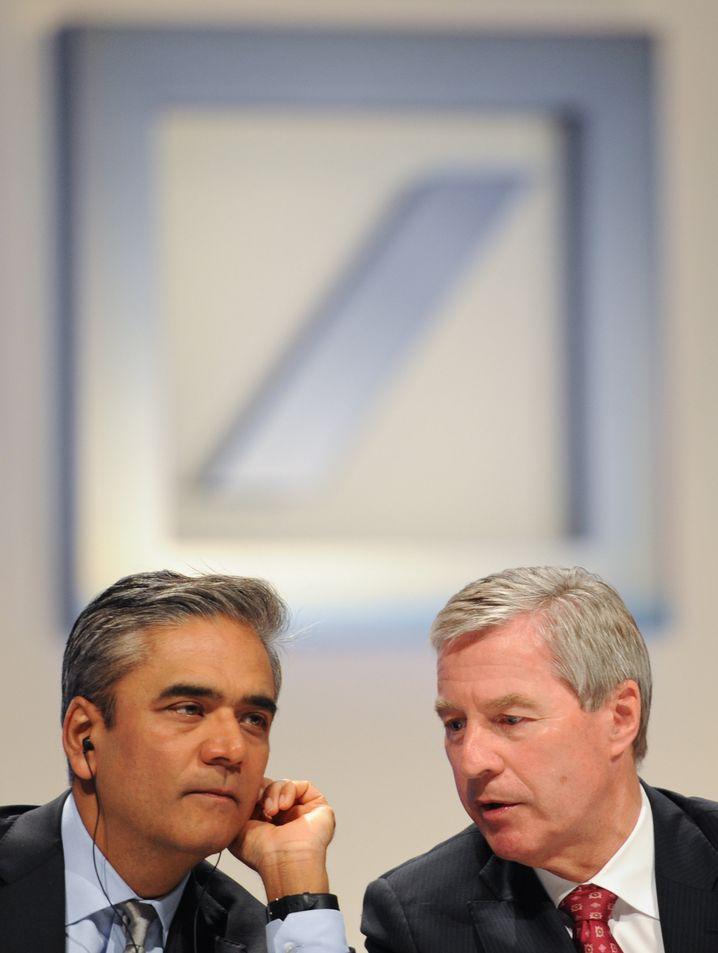 Anshu Jain (l.) und Jürgen Fitschen 2012