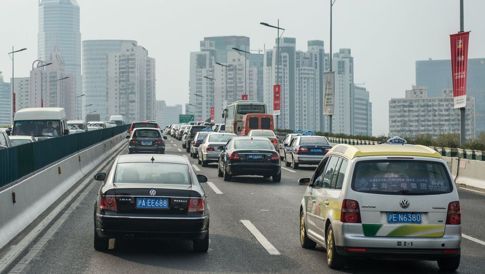 VW-Fahrzeuge in Shanghai (Archivbild)