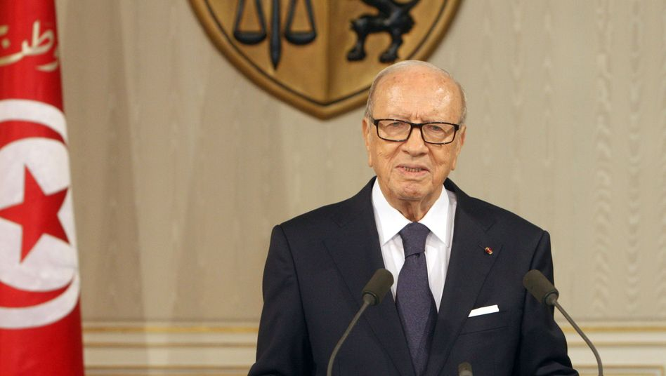 Tunesiens Präsident Beji Caid Essebsi (Archivbild)
