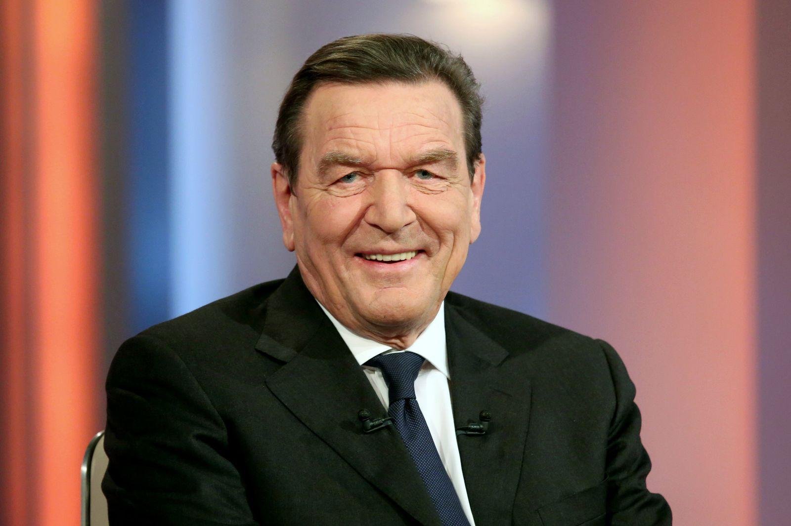 """Gerhard Schröder bei """"Beckmann"""""""