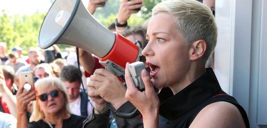 Belarus: Oppositionsführerin Marija Kolesnikowa offenbar von Unbekannten verschleppt