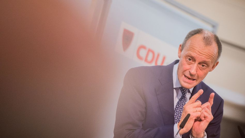 Friedrich Merz (am 10. November in Arnsberg)