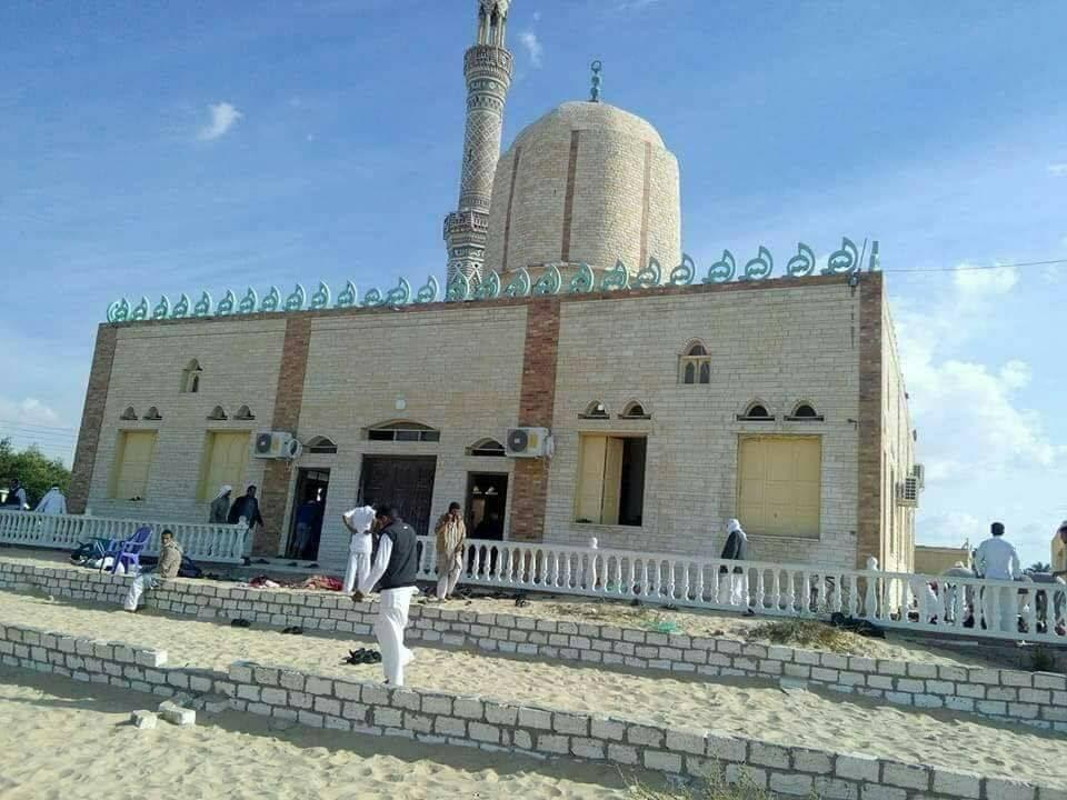 Anschlag auf Moschee in Ägypten