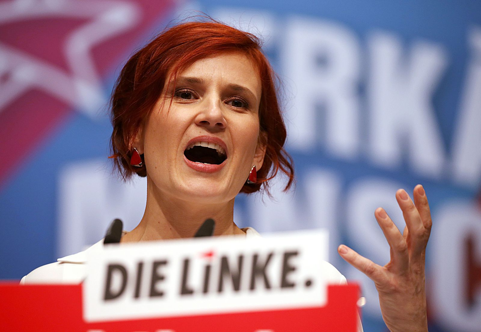 Parteitag Die Linke in Bonn / Katja Kipping