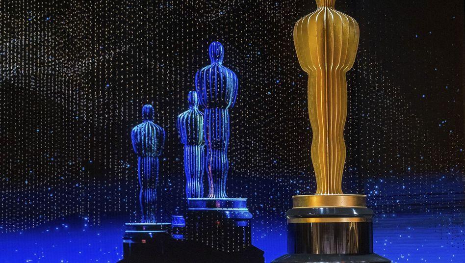 Die Bühne für die Verleihung der 91. Academy Awards während der Proben