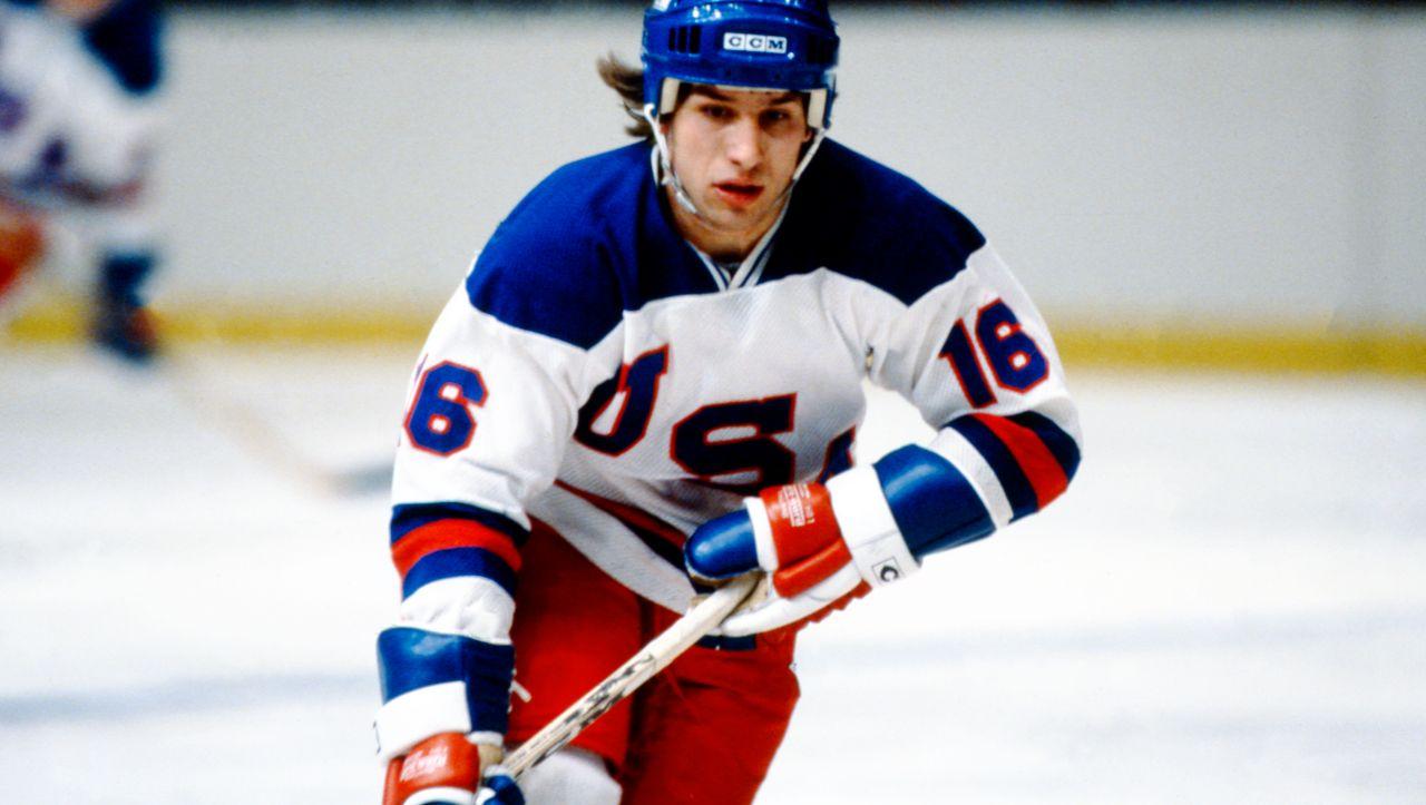 Eishockey-Legende: US-Olympiasieger Mark Pavelich tot - DER SPIEGEL
