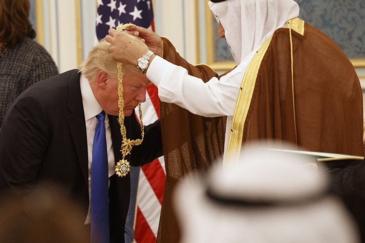 Trump mit König Salman