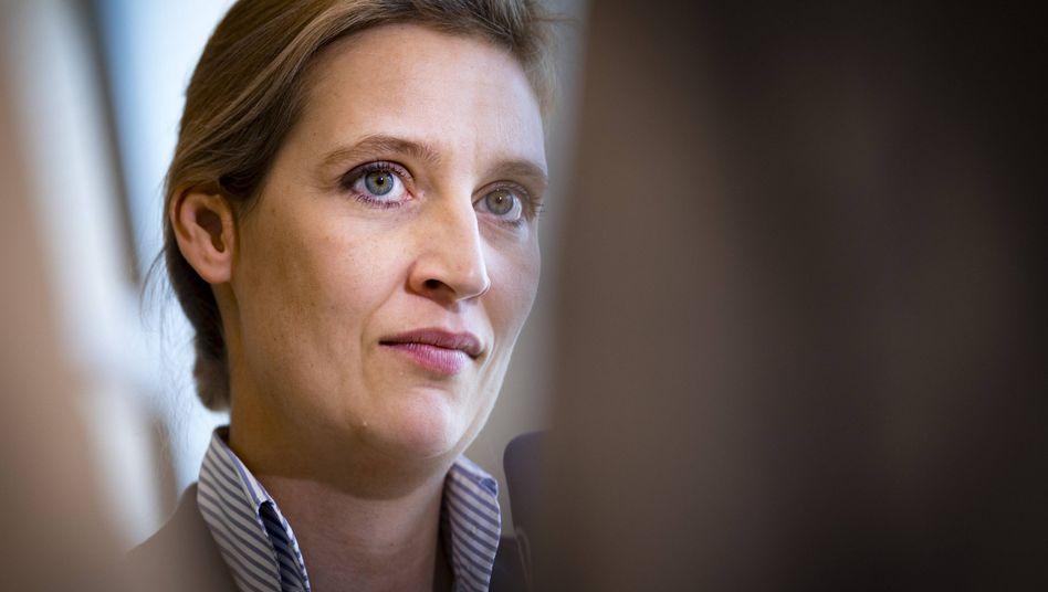 AfD-Fraktionsvorsitzende Alice Weidel