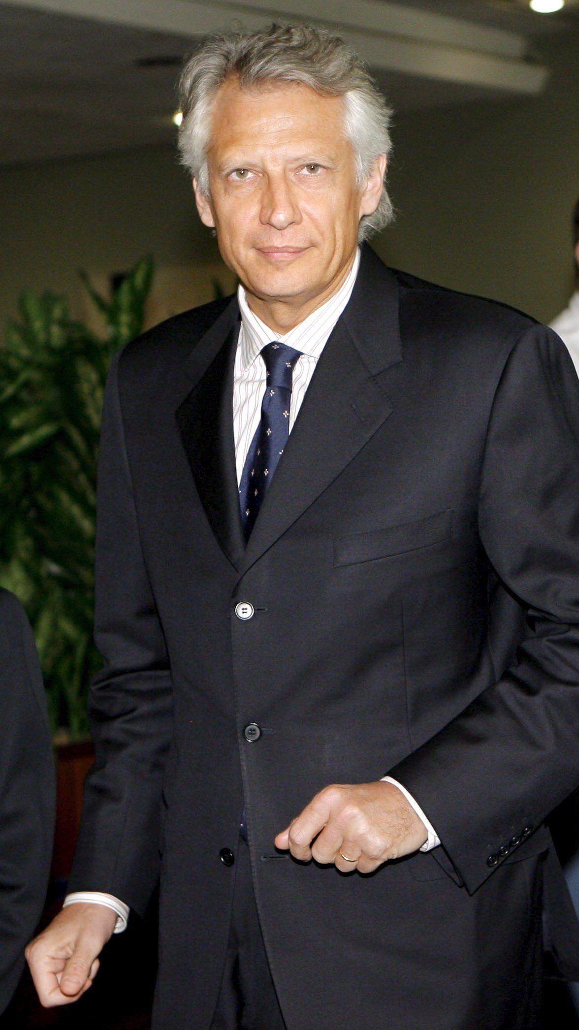 Villepin / Ex-Premier / Frankreich