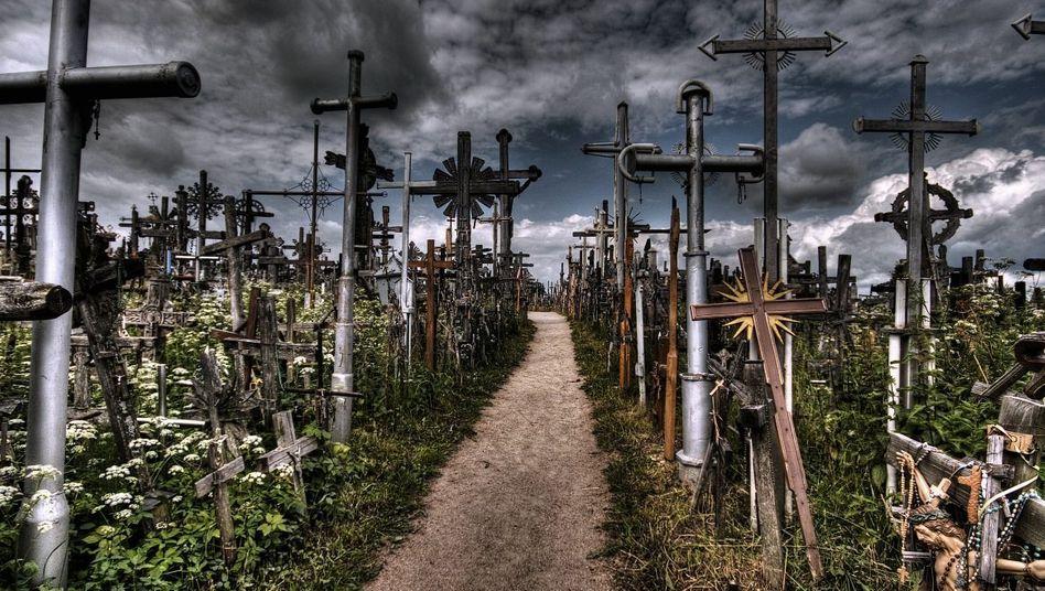 Pilgerort »Berg der Kreuze« in Litauen
