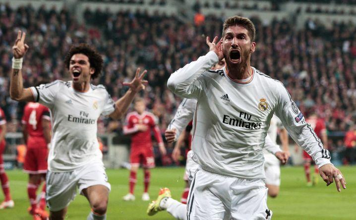 Sergio Ramos: Erst geköpft, dann gebrüllt