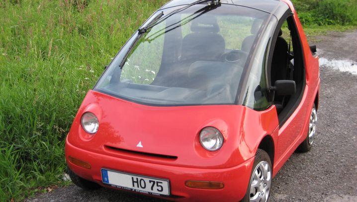 Hotzenblitz - die frühe Form des E-Autos