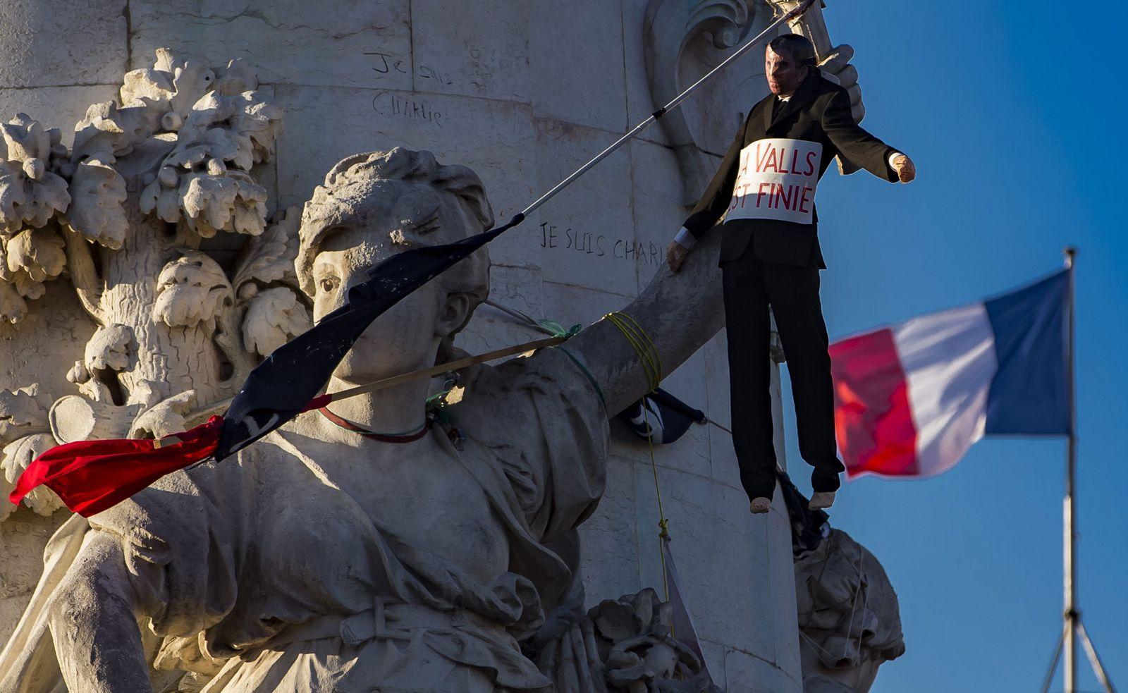 Nuit Debout in Paris