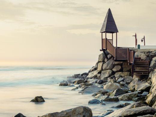 """Foto """"Mensch und Meer"""" von David Martin Huamani Bedoya"""