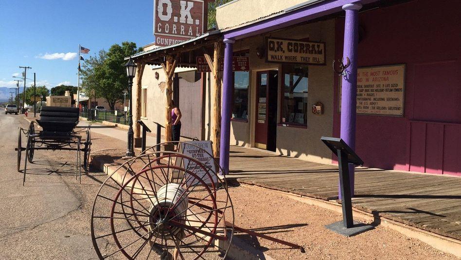 O.K. Corral in Tombstone (Archivbild): Zwei Verletzte bei Schießerei