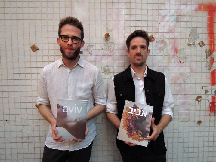 Herausgeber und Gründer Hauenstein und Co-Redakteur Gov