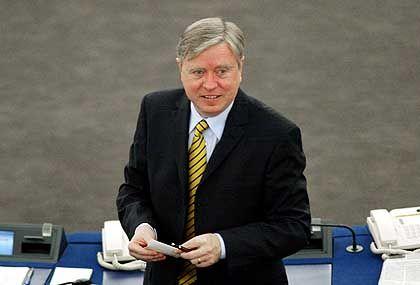 Europaparlaments-Präsident Cox: Erwartet von Schröder eine Führungsrolle