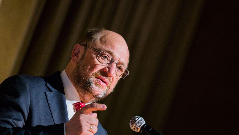 """Martin Schulz: """"Solidarität ist keine Einbahnstraße"""""""