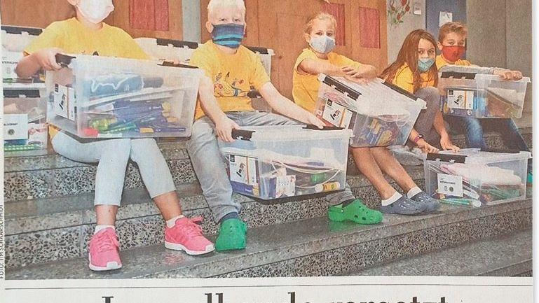 Aus der »Hannoverschen Allgemeinen Zeitung«