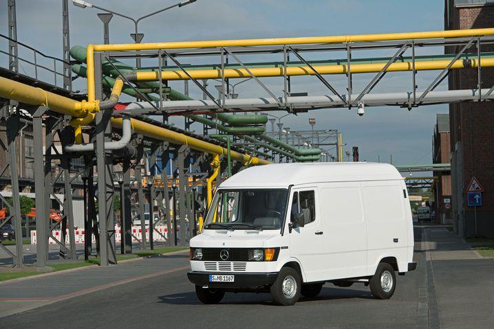 """Mercedes-Benz T1, genannt """"Bremer Modell, gebaut 1977 bis 1995"""